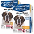 PetArmor Pro Advanced XLarge (89-132 lbs) - 6 Pack