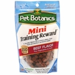 Pet Botanics Mini Training Reward Treats - BEEF (4 oz)