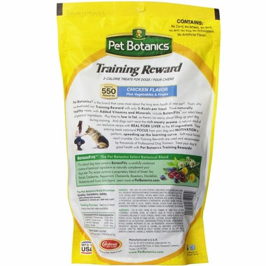 Pet Botanics Training Rewards Chicken (20 oz)