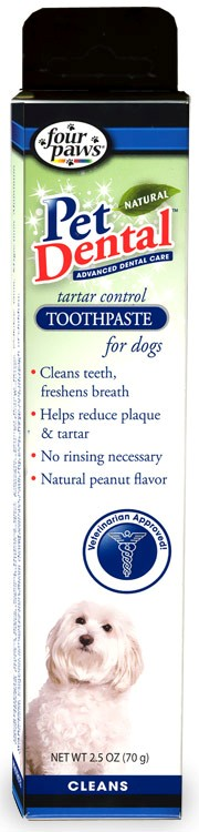 Pet Dental Natural Toothpaste for Dogs (2.5 oz)