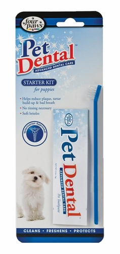 Pet Dental Starter Kit for Puppies