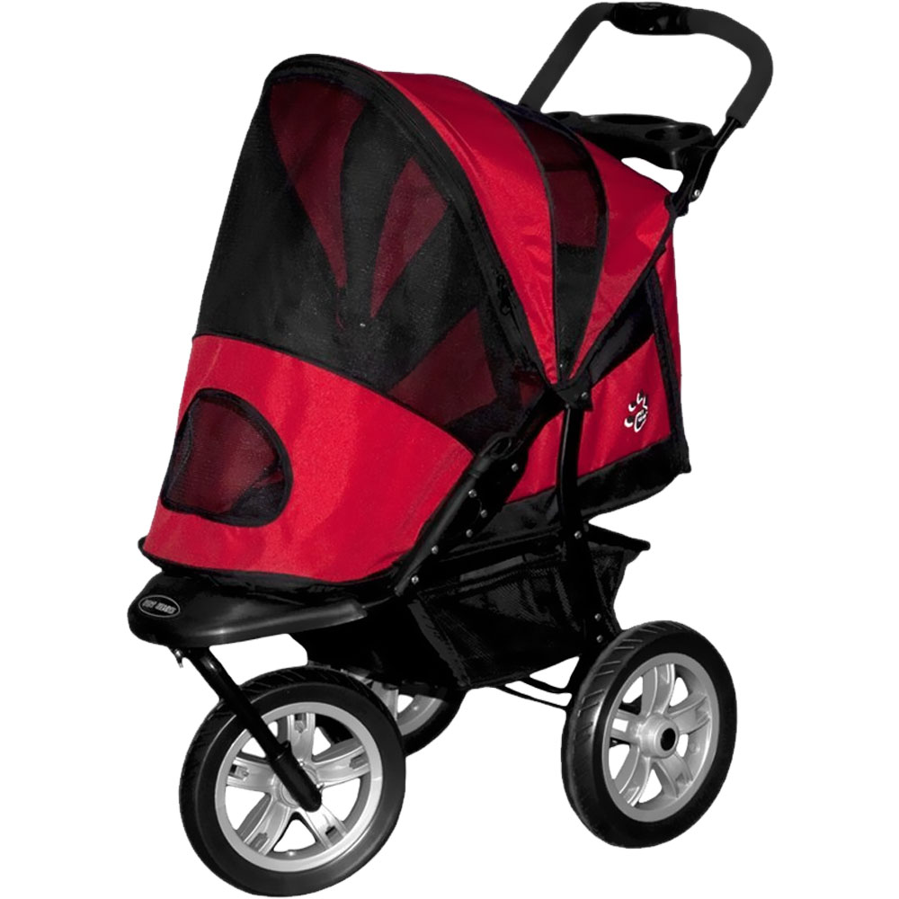 Pet Gear AT3 Generation 2 All-Terrain Pet Stroller - Red Poppy