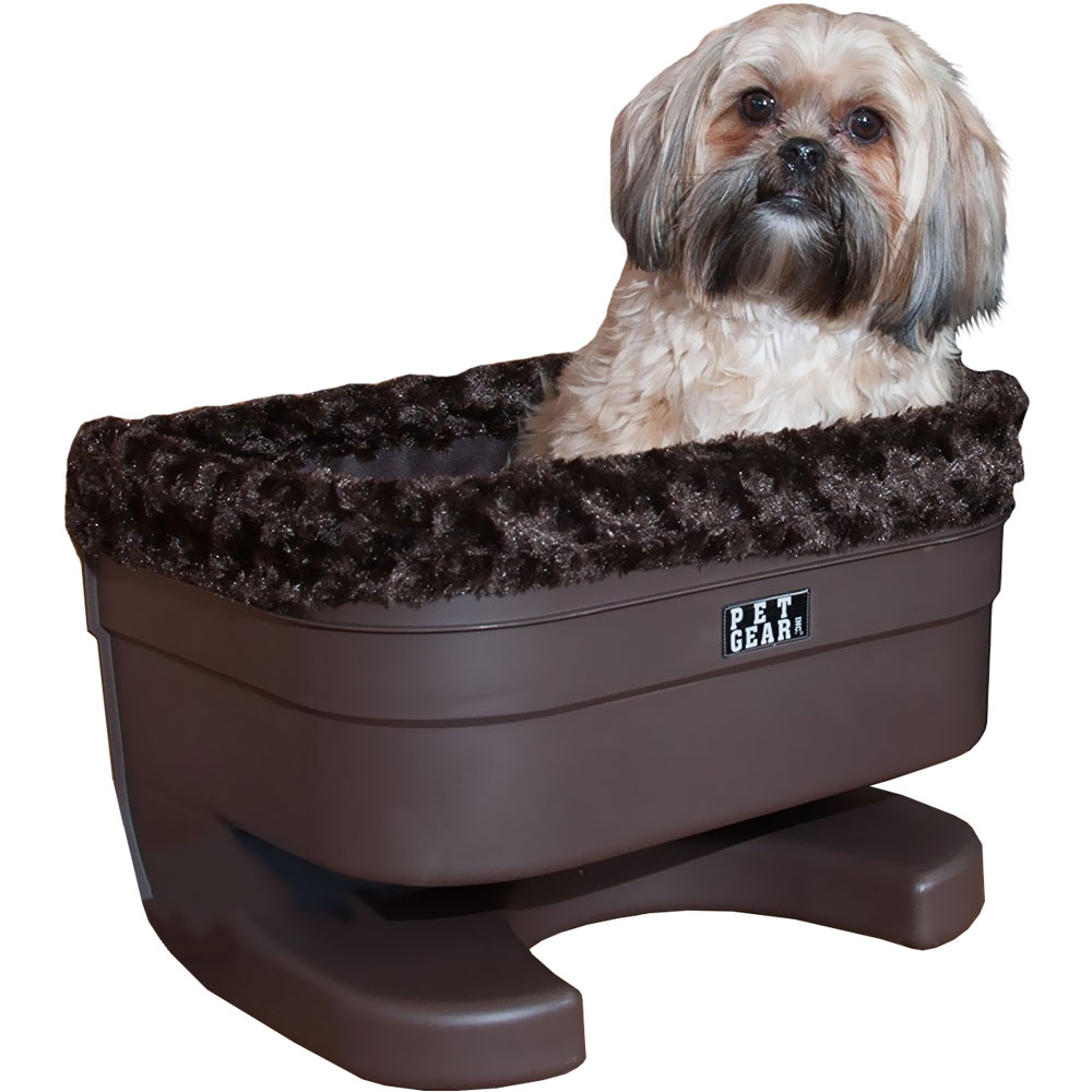 """Pet Gear Bucket Seat Booster With Chocolate Insert  - 17"""""""