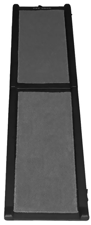 Pet Gear Carpeted Ramp - Grey