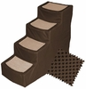 Pet Gear Designed Stair IV with Removeable Cover - Chocolate