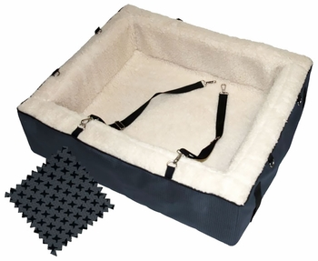Pet Gear Designer Booster Seat - Extra Large Slate