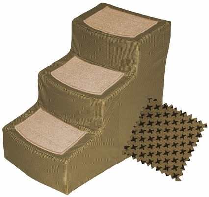 Pet Gear Designer Stair lll with Removeable Cover - Tan