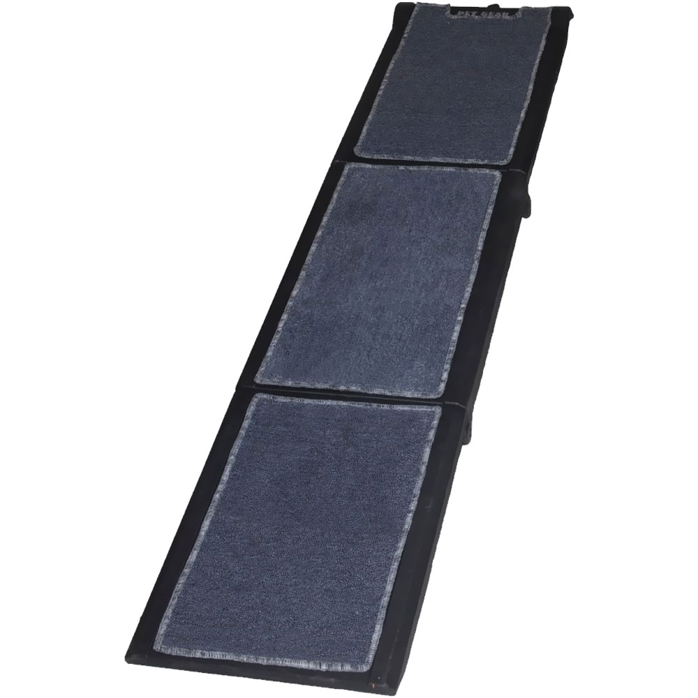 Pet Gear Full Length Carpeted Tri-Fold Pet Ramp