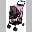 Pet Gear Happy Trails No-Zip Stroller - Pink Diamond