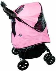 Pet Gear Happy Trails Stroller with Weather Cover
