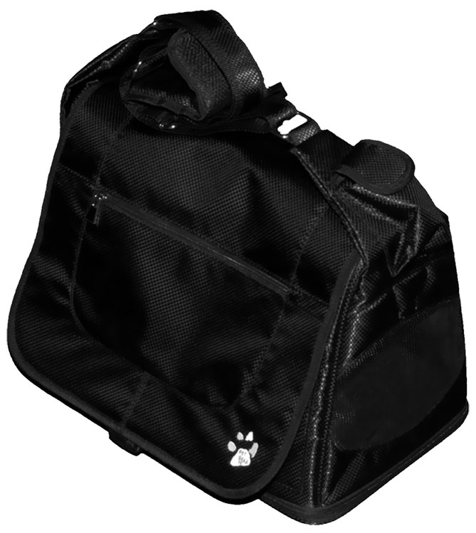 Pet Gear Messenger Bag - Black Diamond