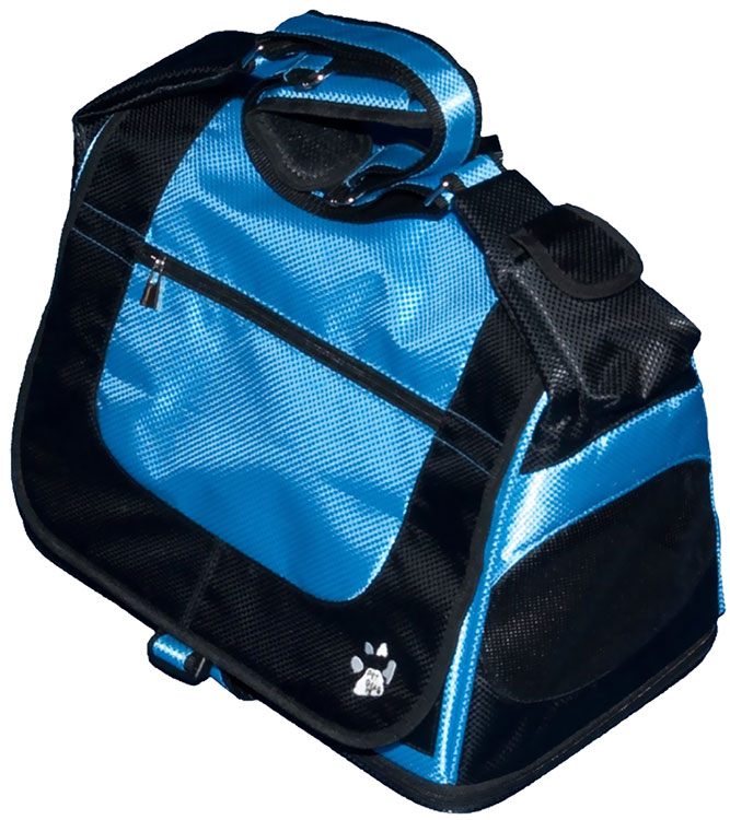 Pet Gear Messenger Bag - Caribbean Blue