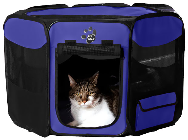 "Pet Gear Octagon Pet Pen With Removable Top 42"" - Lavender"