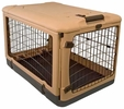 "Pet Gear The Other Door Steel Crate - 27"" - Tan/Black"