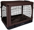 "Pet Gear The Other Door Steel Crate with Pad - 36"" - Chocolate"
