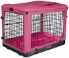 "Pet Gear The Other Door Steel Crate with Plush Pad 27"" - Pink"