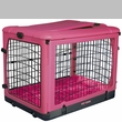 """Pet Gear The Other Door Steel Crate with Plush Pad 27"""" - Pink"""