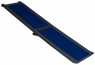 Pet Gear Travel Lite Bi-Fold Full Ramp - Black/Blue
