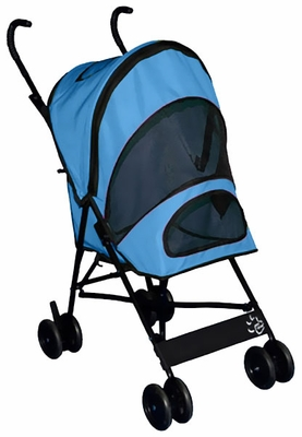 Pet Gear Travel Lite Pet Stroller - Ocean Blue