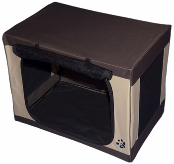 "Pet Gear Travel-Lite Soft Crate 30"" - Sahara"