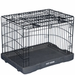 "Pet Gear Travel Lite Steel Crate 30"" - Black"