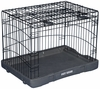 "Pet Gear Travel Lite Steel Crate 42"" - Black"