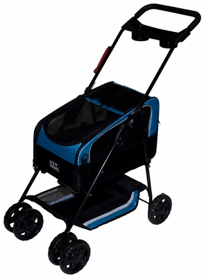 Pet Gear Travel System II Pet Stroller - Blue