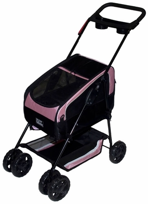Pet Gear Travel System II Pet Stroller - Pink