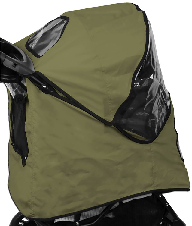 Pet Gear Weather Cover for Happy Trails Stroller - Sage