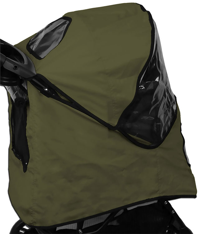 Pet Gear Weather Cover for Jogger Stroller - Sage