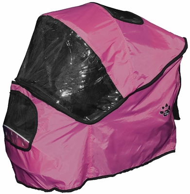 Pet Gear Weather Cover for Special Edition Pet Stroller - Raspberry