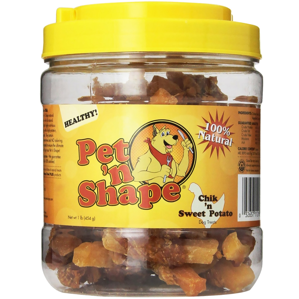 Pet 'N Shape Chik 'n Sweet Potato Dog Treats (1 lb)
