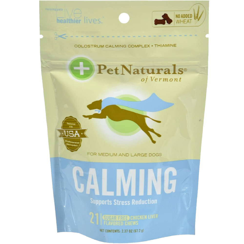 Pet Naturals Calming Chews for Medium & Large Dogs (21 count)