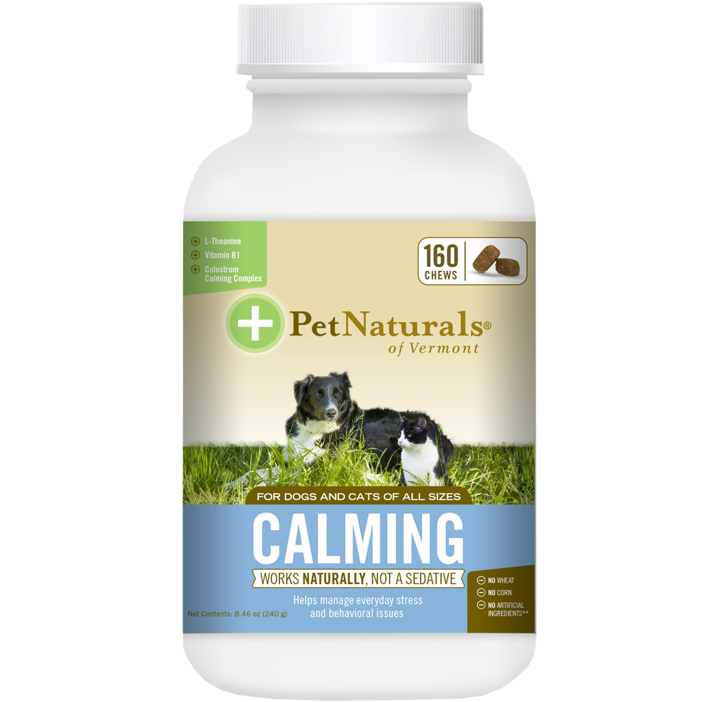 Pet Naturals Calming for Dogs & Cats (160 chews)