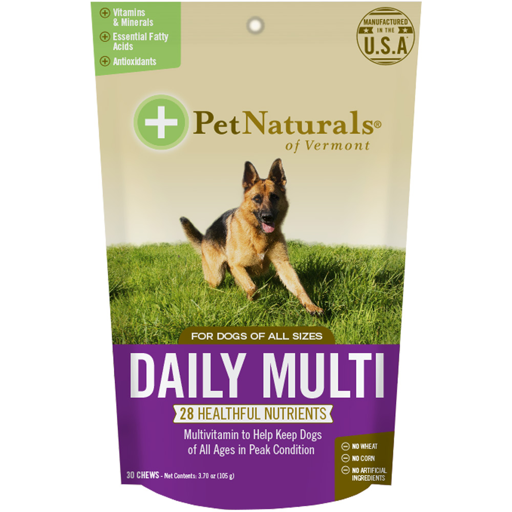 Pet Naturals Daily Multi for Dogs (30 chews)