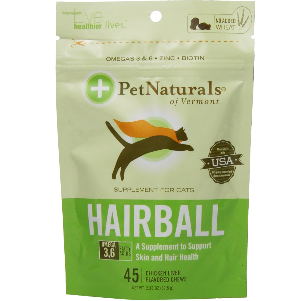 Pet Naturals Hairball Chews for Cats (45 count)