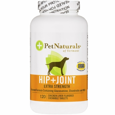 Pet Naturals Hip & Joint Extra Strength (120 Tabs)