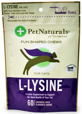 Is l lysine safe for dogs