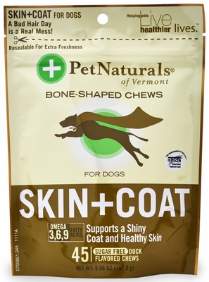 Pet Naturals Skin & Coat Chews for Dogs (45 count)