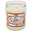 Pet Odor Exterminator Candle™ - Creamy Vanilla Jar (13 oz)