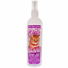 Pet Organics Fast Bath for Cats (12 oz)