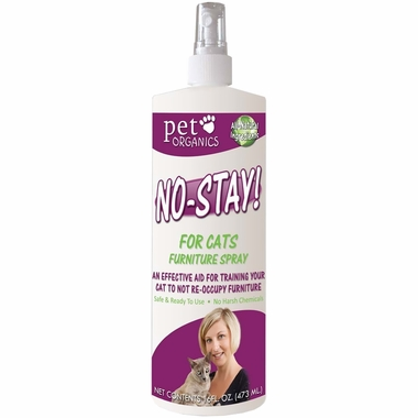 Pet Organics No Stay! Furniture Spray for Cats (16 oz)