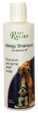 Pet Relief Allergy Shampoo (8 oz)