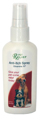 Pet Relief Anti-Itch Spray (2 oz)