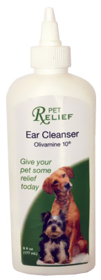 Pet Relief Ear Cleanser (6 oz)
