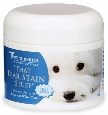 Pet's Choice That Tear Stain Stuff - Beef Flavor (1 oz)