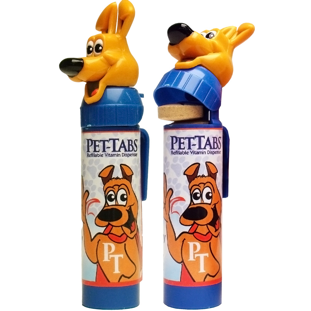 Pet-Tabs Refillable Vitamin Dispenser