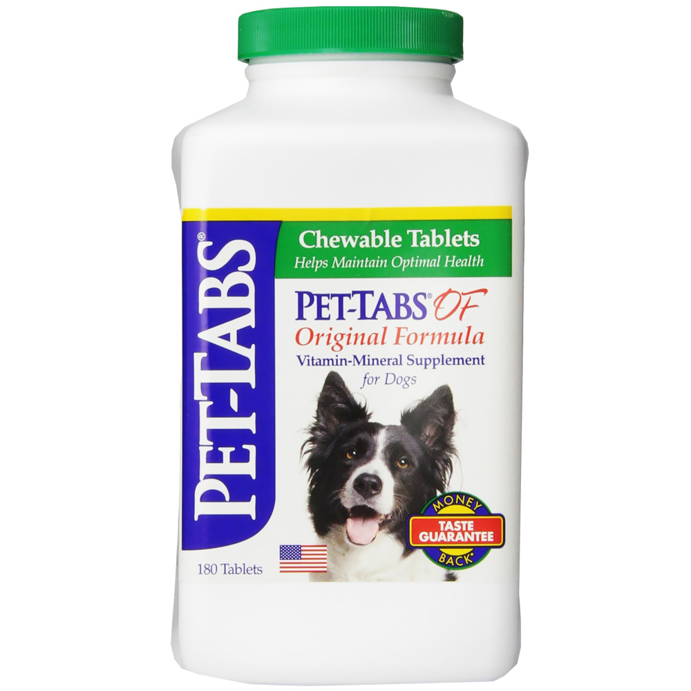 Pet-Tabs Regular for Dogs (180 ct) by Virbac