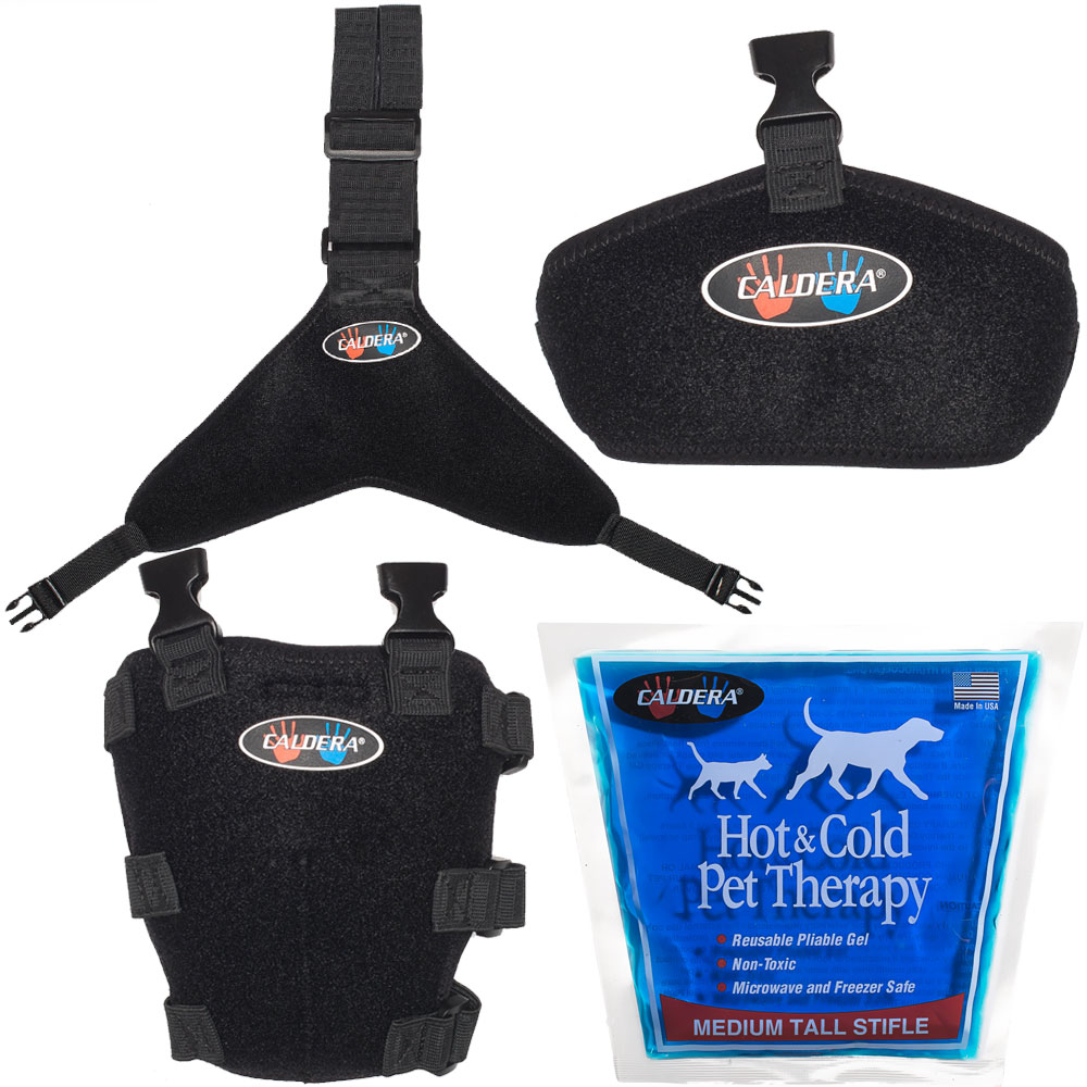 Pet Therapy Wrap with Therapy Gel - Tall Stifle (Medium)