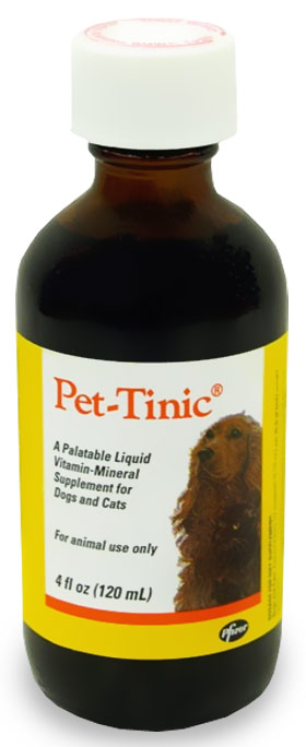 Pet-Tinic 4 oz by Pfizer | Pet Tinic